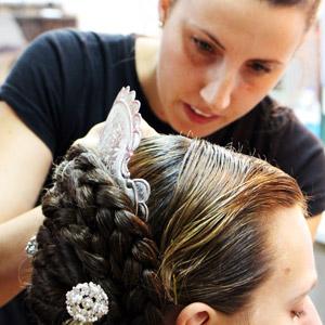Peinado Fallera